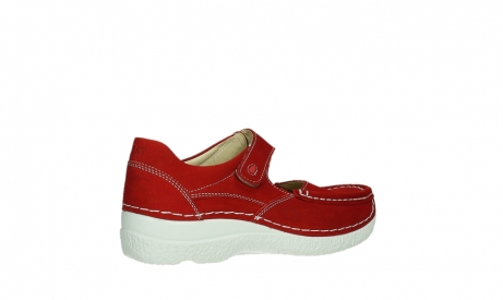 wolky mary janes 06247 roll fever 11570 red nubuck_23