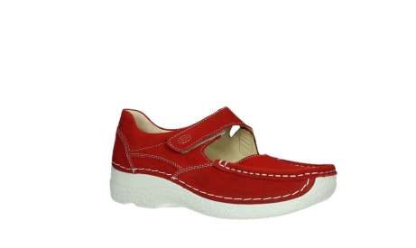 wolky mary janes 06247 roll fever 11570 red nubuck_3