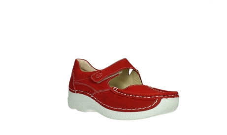 wolky mary janes 06247 roll fever 11570 red nubuck_4