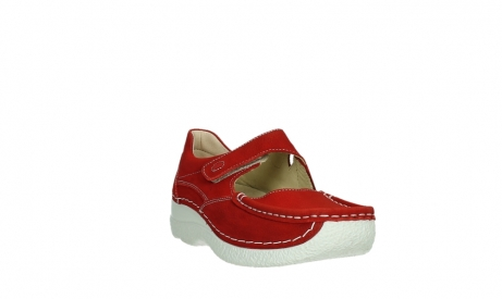 wolky mary janes 06247 roll fever 11570 red nubuck_5