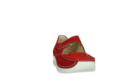 wolky mary janes 06247 roll fever 11570 red nubuck_6