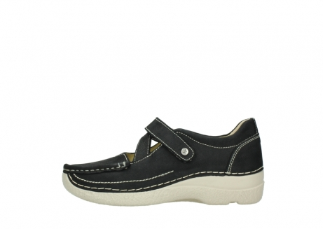 wolky mary janes 06291 seamy cross 10070 black nubuck_1