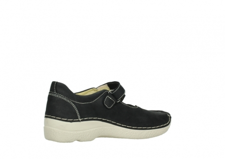 wolky mary janes 06291 seamy cross 10070 black nubuck_11