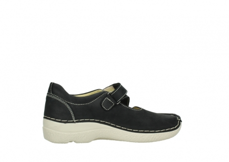 wolky mary janes 06291 seamy cross 10070 black nubuck_12