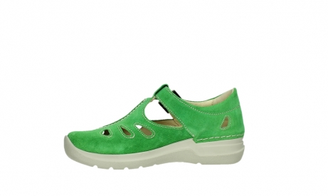 wolky mary janes 06605 smiley 40740 applegreen suede_12