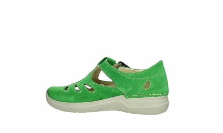 wolky mary janes 06605 smiley 40740 applegreen suede_14