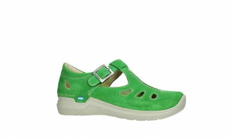 wolky mary janes 06605 smiley 40740 applegreen suede_2