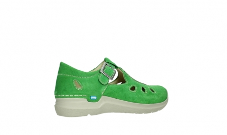 wolky mary janes 06605 smiley 40740 applegreen suede_23