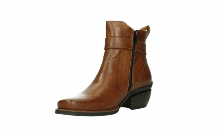 wolky ankle boots 00407 bronson 30430 cognac leather_10