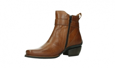 wolky ankle boots 00407 bronson 30430 cognac leather_11