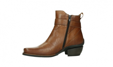 wolky ankle boots 00407 bronson 30430 cognac leather_12
