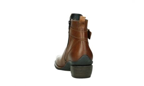 wolky ankle boots 00407 bronson 30430 cognac leather_18