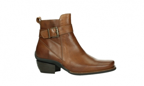 wolky ankle boots 00407 bronson 30430 cognac leather_2
