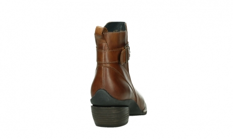 wolky ankle boots 00407 bronson 30430 cognac leather_20