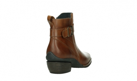 wolky ankle boots 00407 bronson 30430 cognac leather_21