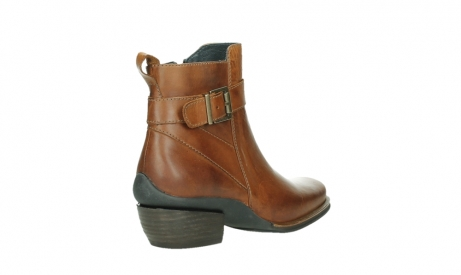 wolky ankle boots 00407 bronson 30430 cognac leather_22