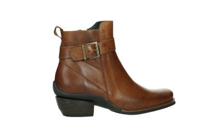 wolky ankle boots 00407 bronson 30430 cognac leather_24