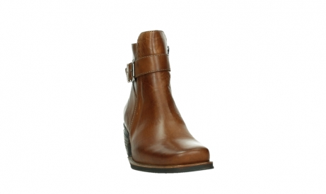 wolky ankle boots 00407 bronson 30430 cognac leather_6