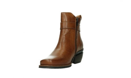 wolky ankle boots 00407 bronson 30430 cognac leather_9