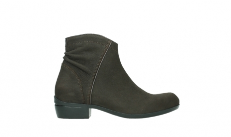 wolky ankle boots 00952 winchester 13305 dark brown nubuck_1