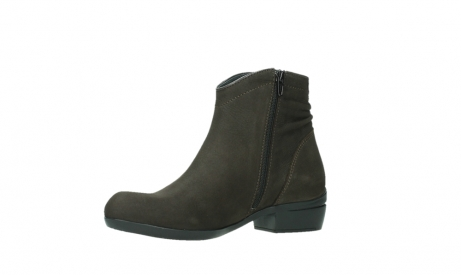 wolky ankle boots 00952 winchester 13305 dark brown nubuck_11