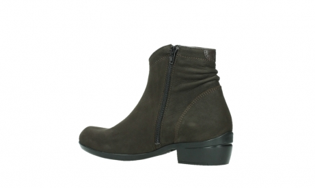 wolky ankle boots 00952 winchester 13305 dark brown nubuck_15