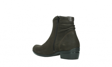 wolky ankle boots 00952 winchester 13305 dark brown nubuck_16