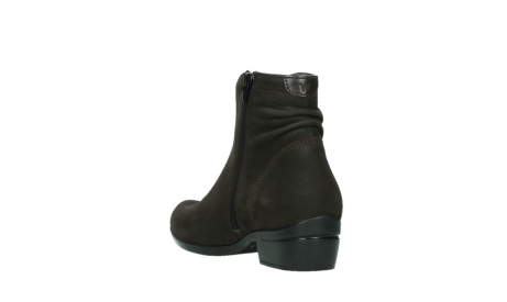 wolky ankle boots 00952 winchester 13305 dark brown nubuck_17