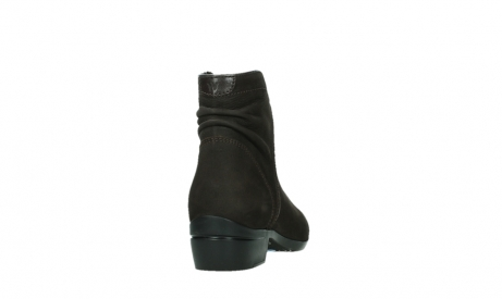 wolky ankle boots 00952 winchester 13305 dark brown nubuck_20
