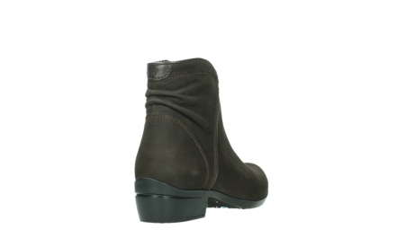 wolky ankle boots 00952 winchester 13305 dark brown nubuck_21