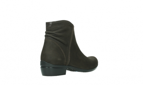 wolky ankle boots 00952 winchester 13305 dark brown nubuck_22