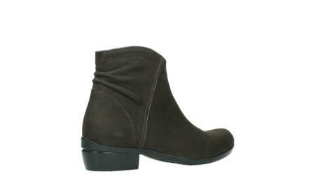 wolky ankle boots 00952 winchester 13305 dark brown nubuck_23