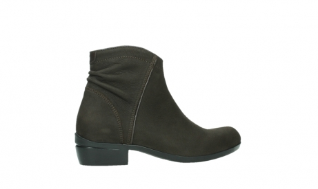 wolky ankle boots 00952 winchester 13305 dark brown nubuck_24