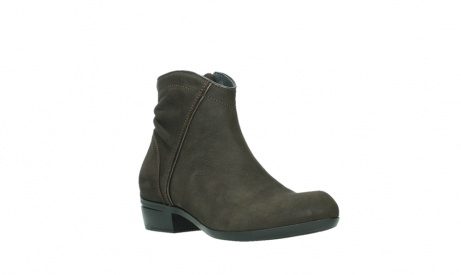 wolky ankle boots 00952 winchester 13305 dark brown nubuck_4