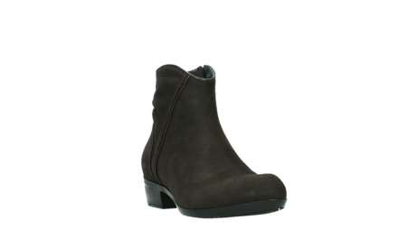 wolky ankle boots 00952 winchester 13305 dark brown nubuck_5