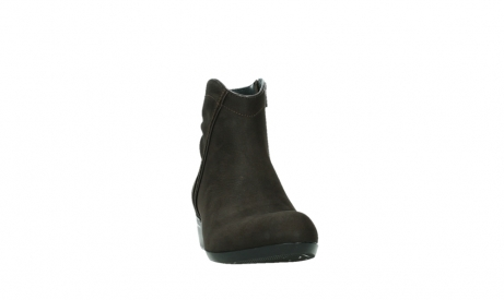 wolky ankle boots 00952 winchester 13305 dark brown nubuck_6