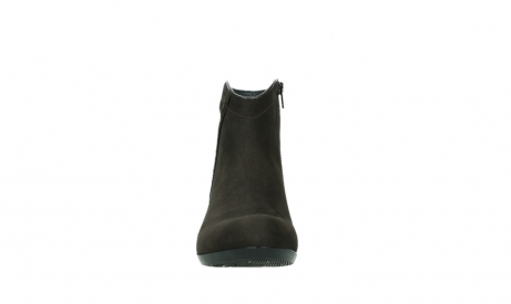 wolky ankle boots 00952 winchester 13305 dark brown nubuck_7