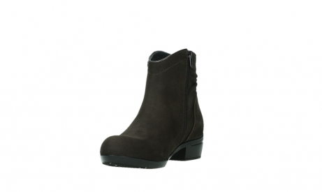 wolky ankle boots 00952 winchester 13305 dark brown nubuck_9