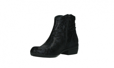 wolky ankle boots 00952 winchester 47800 blue suede_10