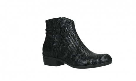 wolky ankle boots 00952 winchester 47800 blue suede_3