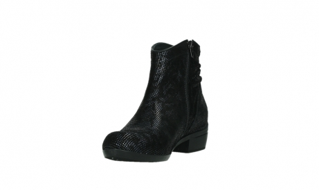 wolky ankle boots 00952 winchester 47800 blue suede_9