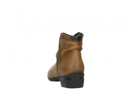 wolky ankle boots 00952 winchester 50432 cognac leather_6