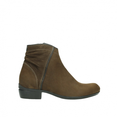 wolky ankle boots 00954 winchester wp 13410 tabaccobrown nubuckleather