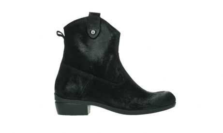 wolky ankle boots 00960 finley 45000 black suede_1