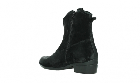 wolky ankle boots 00960 finley 45000 black suede_16