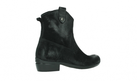 wolky ankle boots 00960 finley 45000 black suede_23