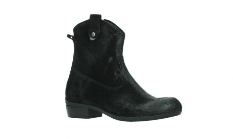 wolky ankle boots 00960 finley 45000 black suede_3