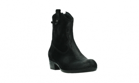 wolky ankle boots 00960 finley 45000 black suede_5
