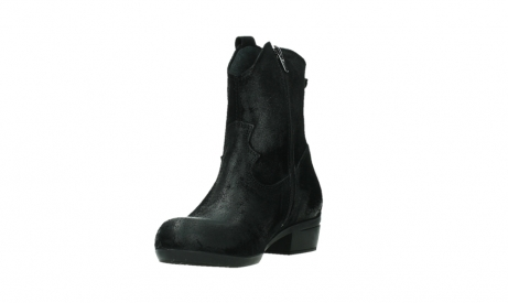 wolky ankle boots 00960 finley 45000 black suede_9