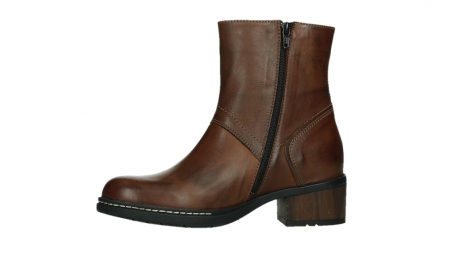 wolky ankle boots 01262 drayton 30430 cognac leather_12